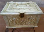 Vintage Sewing Box Makeover